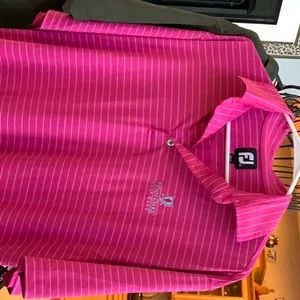 2 golf shirts  ex cond $30 for both